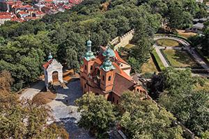 גבעת פטז'ין בפראג