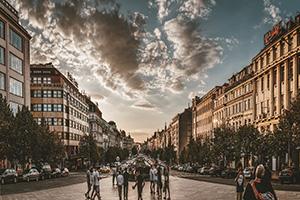 כיכר ואצלב בפראג